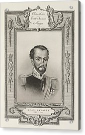 Juan Lavalle Acrylic Print by British Library