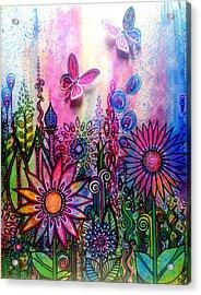 Jubilant Acrylic Print by Robin Mead