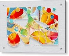 Jubilation Acrylic Print by Gayle Odsather