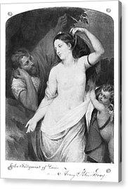Judgement Of Paris Acrylic Print by Granger