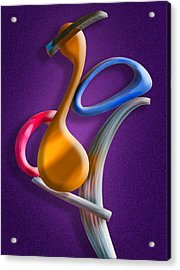 Juggling Act Acrylic Print by Paul Wear