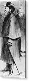 Jules Guesde Acrylic Print by Alphonse Leon Noel
