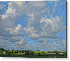 July In The Valley Acrylic Print by Bruce Morrison