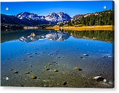 June Lake California Acrylic Print by Scott McGuire