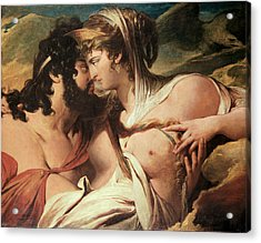 Jupiter And Juno On Mount Ida Acrylic Print by James Barry