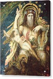 Jupiter And Semele  Acrylic Print by Gustave Moreau