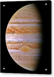 Jupiter And The Spot Acrylic Print by Benjamin Yeager