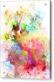 Just Colors 6 Acrylic Print by Artwork Studio