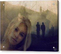 Just Shadows Acrylic Print by Gun Legler
