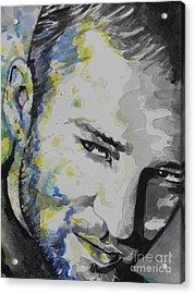 Justin Timberlake...02 Acrylic Print by Chrisann Ellis