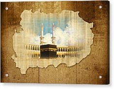 Kabah Acrylic Print by Catf