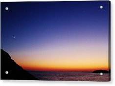 Kalymnos Greek Skies Acrylic Print by Catherine Davies