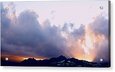 Kamehameha Sunrise Acrylic Print by Kevin Smith