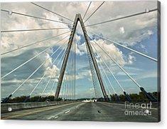 Kansas City Bridge - 01 Acrylic Print by Gregory Dyer