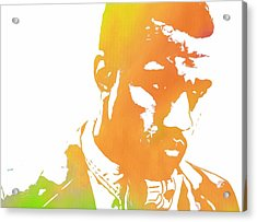 Kanye West Pop Art Acrylic Print by Dan Sproul