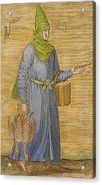 Karamanid Woman Acrylic Print by David Nicolai