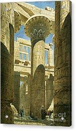 Karnak Acrylic Print by Richard Phene Spiers