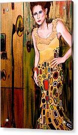Kate Acrylic Print by Debi Starr