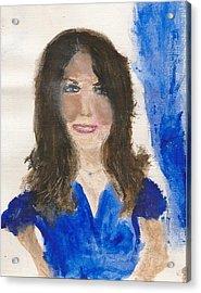 Kate Middleton Acrylic Print by Angela Rose