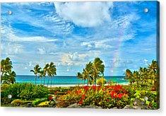 Kauai Bliss Acrylic Print by Marie Hicks