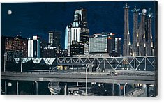 Kc At Dusk Acrylic Print by Patricio Lazen