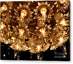 Keep Shining Acrylic Print by Rory Sagner