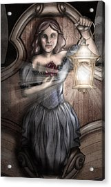 Keeper Of The Light Acrylic Print by April Moen