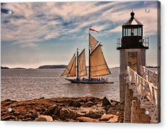 Keeping Vessels Safe Acrylic Print by Karol Livote