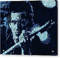 Keith Richards Acrylic Print by Barry Novis