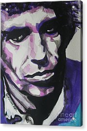 Keith Richards Acrylic Print by Chrisann Ellis