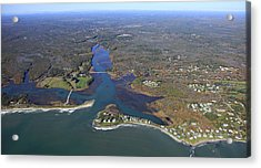 Kennebunk, Main Acrylic Print by Dave Cleaveland