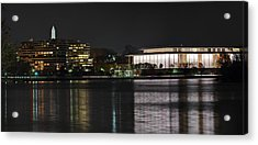 Kennery Center For The Performing Arts - Washington Dc - 01131 Acrylic Print by DC Photographer