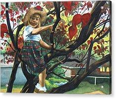 Kentucky Belle Acrylic Print by Heidi E  Nelson