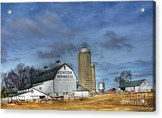 Kenyon Brothers Dairy Acrylic Print by David Bearden