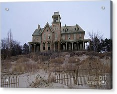 Kettle Point Manor Acrylic Print by Tom Straub