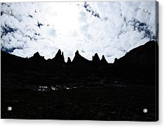 Keyboard Of The Winds Acrylic Print by Tranquil Light  Photography