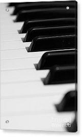 Keyboard Acrylic Print by Svetlana Sewell