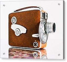 Keystone 8mm Camera Acrylic Print by Jon Woodhams