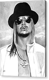 Kid Rock Acrylic Print by Brian Curran