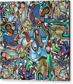Kieko Alteration Acrylic Print by George Curington