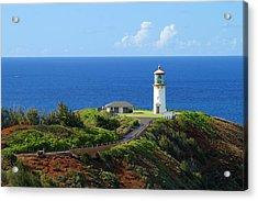 Kilauea Lighthouse Acrylic Print by Shahak Nagiel