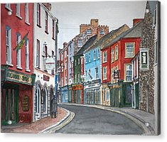Kilkenny Ireland Acrylic Print by Anthony Butera