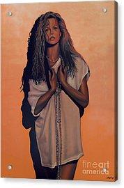 Kim Basinger Acrylic Print by Paul Meijering