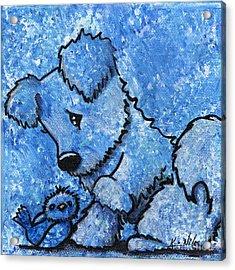 Kimpressions - Bird Dog Acrylic Print by Kim Niles