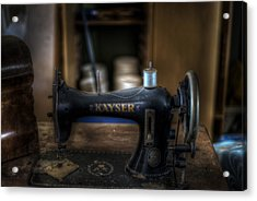 King Of Sewing Machines Acrylic Print by Nathan Wright