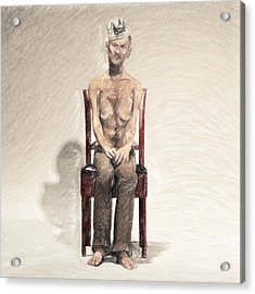 King Acrylic Print by Taylan Soyturk