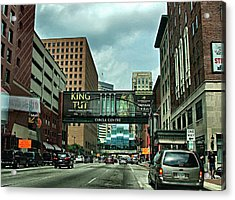 King Tut In Indy Acrylic Print by Julie Dant