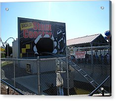 Kings Dominion - Back Lot Stunt Coaster - 12123 Acrylic Print by DC Photographer