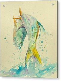 King's Jump  Acrylic Print by Yusniel Santos