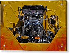Kinsler Fuel Injection Acrylic Print by Mike Martin